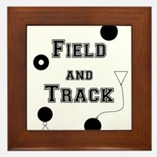 Field And Track Thrower Framed Tile