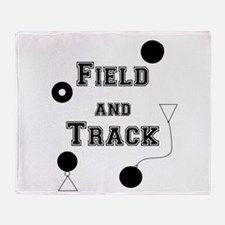 Field And Track Thrower Throw Blanket