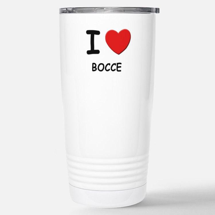 Cute Bocce ball Travel Mug