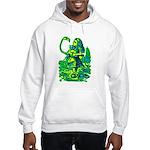 Alice & Flamingo Hooded Sweatshirt