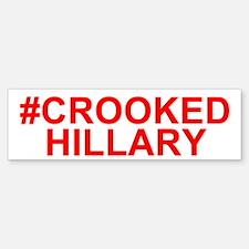 Crooked Hillary Bumper Bumper Bumper Sticker