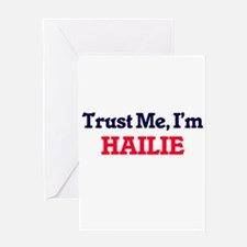 Trust Me, I'm Hailie Greeting Cards