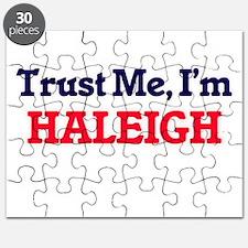 Trust Me, I'm Haleigh Puzzle