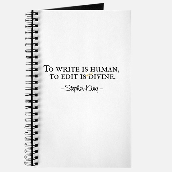 To Write is Human Journal