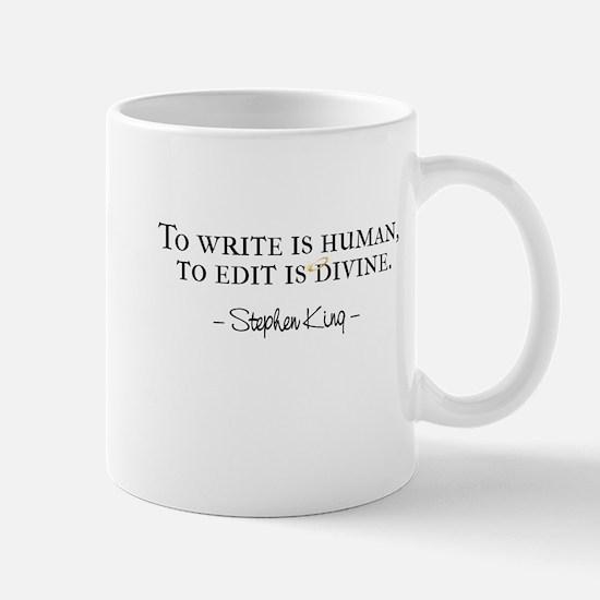 To Write is Human Mug