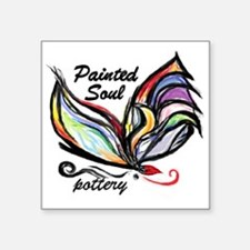 Painted Soul Pottery logo Sticker