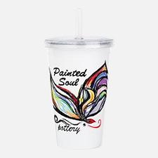 Painted Soul Pottery logo Acrylic Double-wall Tumb
