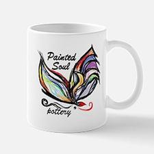 Painted Soul Pottery logo Mugs