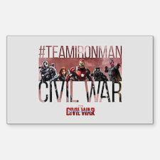 Hashtag Iron Man Group - Capta Decal