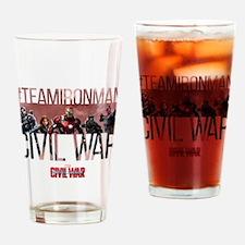 Hashtag Iron Man Group - Captain Am Drinking Glass