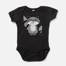 Cute Enchanted forest Baby Bodysuit