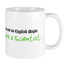 I are a Scientist Small Mug