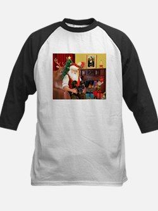 Santa's 2 Doxies (blk) Tee