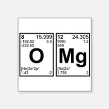 OMG Oh My God Periodic Table Elements Sticker