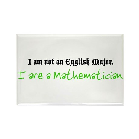 I are a Mathematician Rectangle Magnet (100 pack)