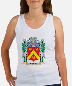 Moshe Coat of Arms - Family Crest Tank Top