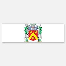 Moshe Coat of Arms - Family Crest Bumper Bumper Bumper Sticker