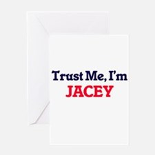 Trust Me, I'm Jacey Greeting Cards