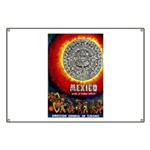 Vintage Mexico Aztec Calendar Travel and Tourism P