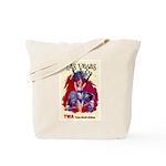TWA Fly to Las Vegas Vintage Art Print Tote Bag