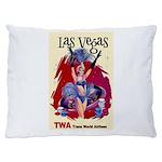TWA Fly to Las Vegas Vintage Art Print Dog Bed
