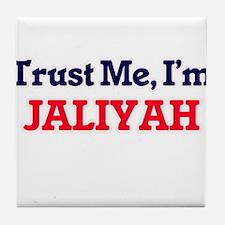 Trust Me, I'm Jaliyah Tile Coaster
