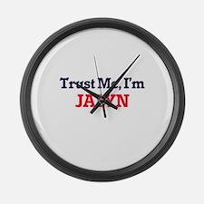 Trust Me, I'm Jalyn Large Wall Clock