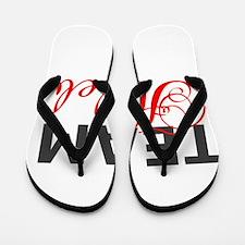 Team Haleb Flip Flops
