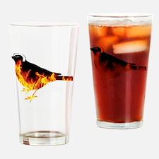 Cute Democrat symbol Drinking Glass