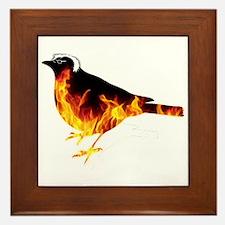 Feel the Bern Bird Framed Tile