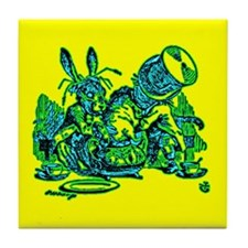 Dormous in Teapot Tile Coaster