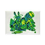 Dormous in Teapot Rectangle Magnet (100 pack)
