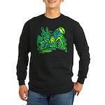 Dormous in Teapot Long Sleeve Dark T-Shirt