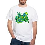 Dormous in Teapot White T-Shirt