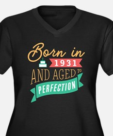 1931 Aged to Perfection Plus Size T-Shirt