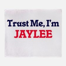 Trust Me, I'm Jaylee Throw Blanket