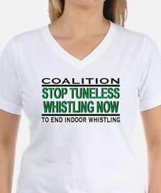 """Stop Tuneless Whistling"" T-Shirt"