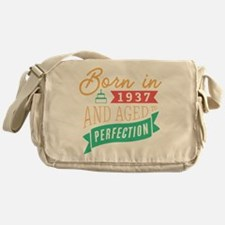 1937 Aged to Perfection Messenger Bag