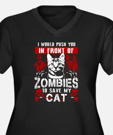 Save My Cat! Plus Size T-Shirt