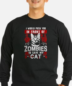 Save My Cat! Long Sleeve T-Shirt
