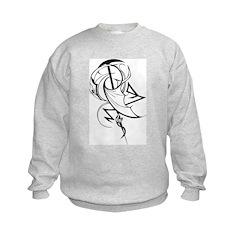 Abstract Pterodactyl Sweatshirt
