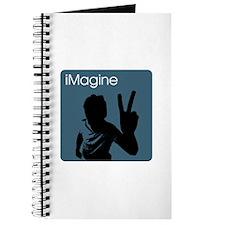 iMagine Peace - Siloette - Blue Journal