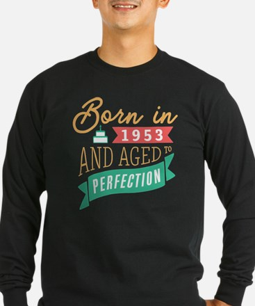 1953 Aged to Perfection Long Sleeve T-Shirt