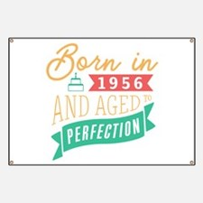 1956 Aged to Perfection Banner