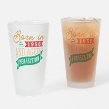 1956 Aged to Perfection Drinking Glass
