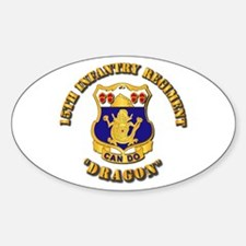 15th Infantry Regt - Dragon Decal