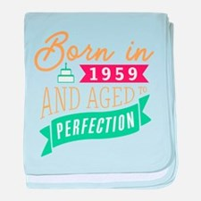 1959 Aged to Perfection baby blanket