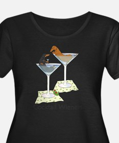 Cocktail Wieners (duo) Plus Size T-Shirt