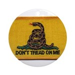 Don't Tread on Me! Ornament (Round)