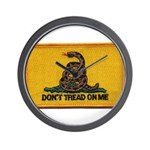 Don't Tread on Me! Wall Clock